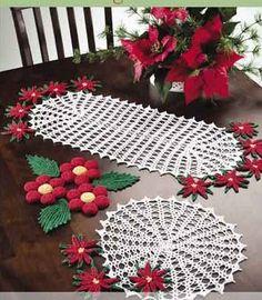 como hacer camino de mesa en crochet