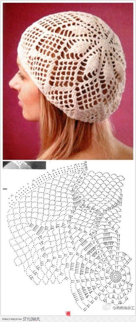5-como-hacer-un-gorro-en-crochet-para-mujer
