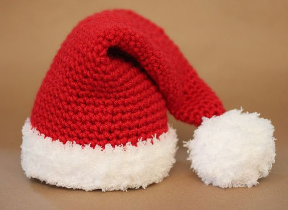 como hacer gorro de bebe en crochet