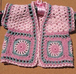 como hacer un chaleco en crochet para niña