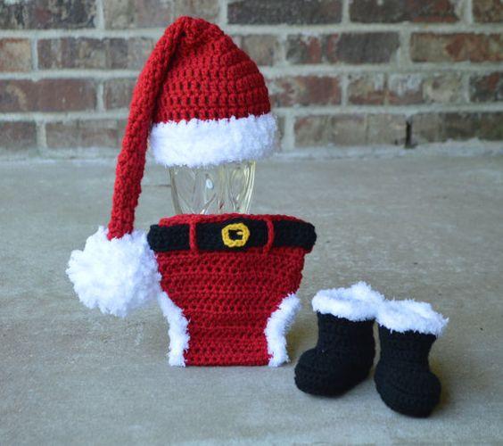 como hacer gorro de bebe a crochet