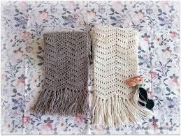 como hacer bufandas a crochet hermosas