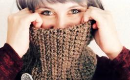 como hacer cuellos de lana a crochet con estilo. ¡Anímate es muy fácil!