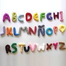 como hacer letras en crochet de forma fácil y rápida
