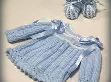 como hacer una chambrita con dos agujas o una chaqueta para bebé