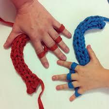 curso de tejer a mano literalmente