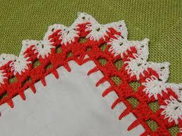 como aprender a tejer orillas de servilletas