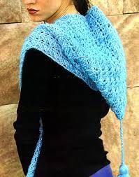 cómo hacer bufandas con dos agujas