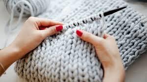 cómo tejer bufandas con dos agujas