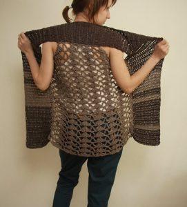 como hacer chalecos a crochet para temporada de invierno súper fashion