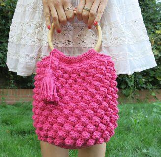 como hacer el punto piña a crochet en 4 pasos súper fáciles