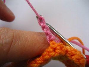 como hacer flores a crochet faciles-28