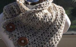como hacer una bufanda con dos agujas paso a paso muy bonita