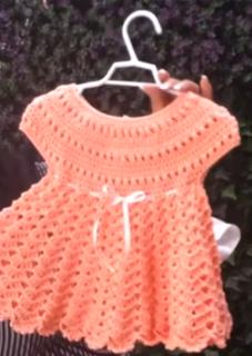 como hacer vestido de niña a crochet para todo tipo de fiesta