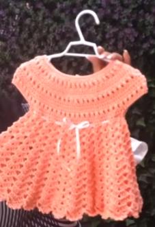 Como Hacer Vestido De Niña A Crochet Para Todo Tipo De