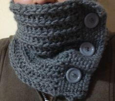 como hacer bufandas de punto con dos agujas-5