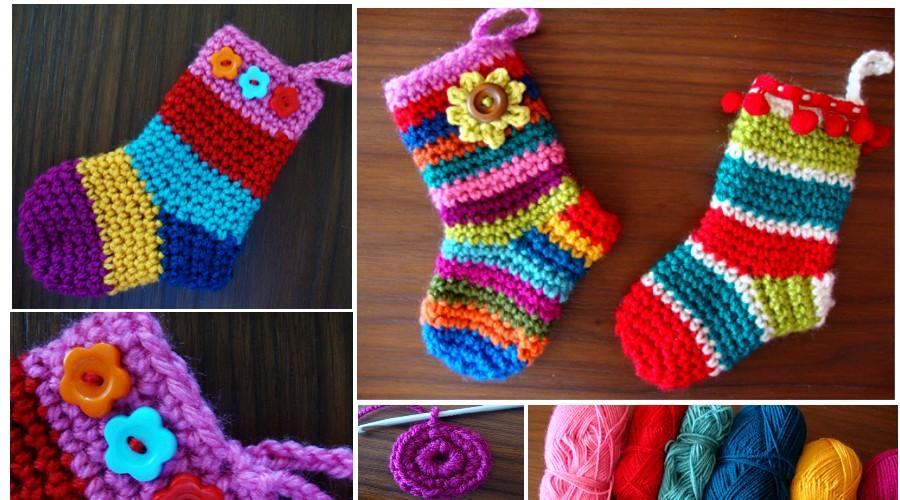 Como Hacer Calcetines De Lana A Crochet Para Dama