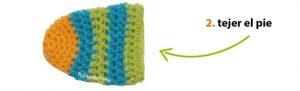 como hacer calcetines de lana a crochet-6