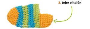 como hacer calcetines de lana a crochet-7