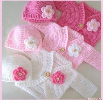 como hacer ropa de bebe a crochet