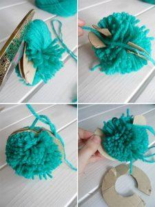 como hacer una gorra con dos agujas-16