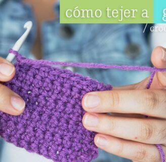 Aprende a tejer con videos de tejido