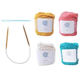Kit de tejer para principiantes