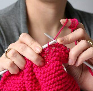 Una guía esencial para aprender a tejer para principiantes